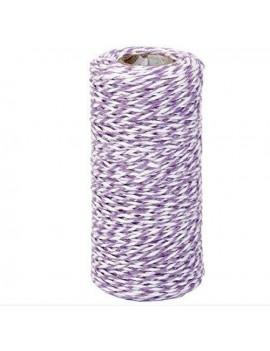 Purple and White...
