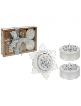 Snowflake Candle And...