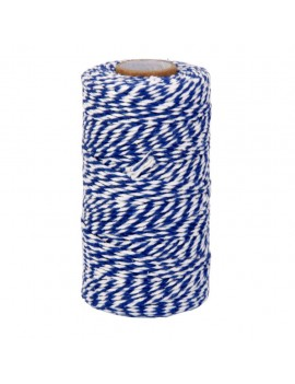 Blue and White Cotton...