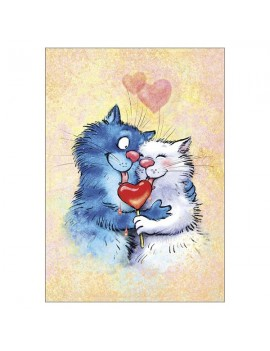 Love You Greetings Card
