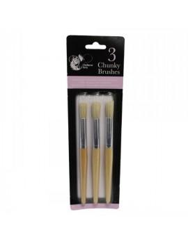 Chunky Paint Brush x3
