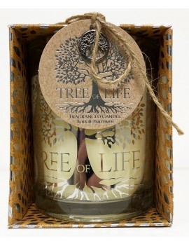 Tree Of Life Candle Pot