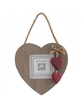 Single Red Heart Photo...