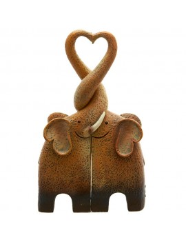 Elephant Family Ornament
