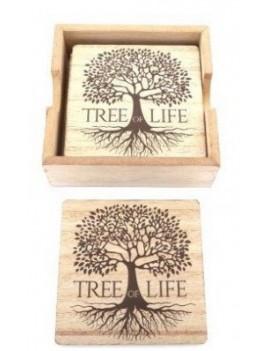 Tree of Life Coaster Set