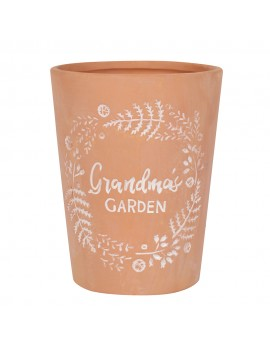 Grandma's Garden Terracotta Plant Pot | 5055581695492 | BM_17828