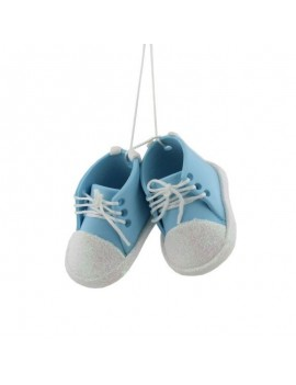 Baby Blue Bootees...