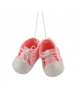 Baby Pink Bootees...