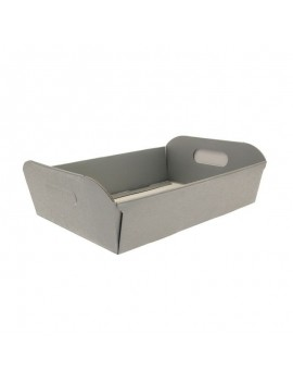 Silver Hamper Box